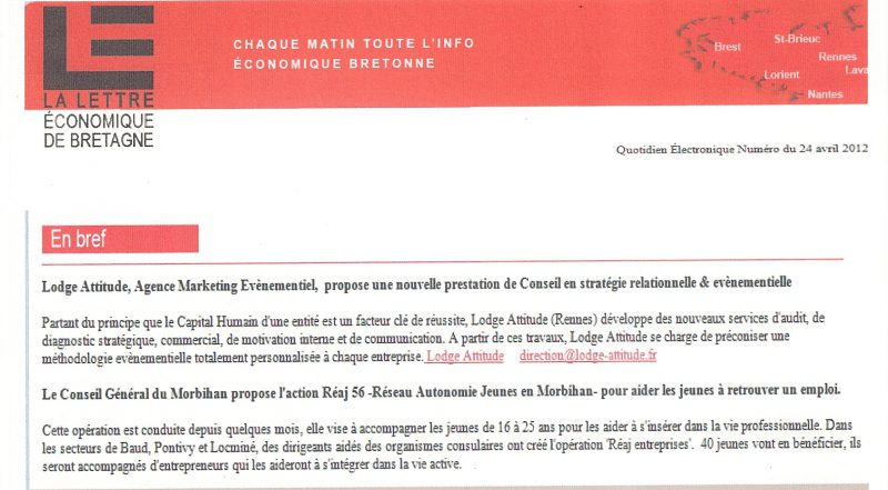lettre eco