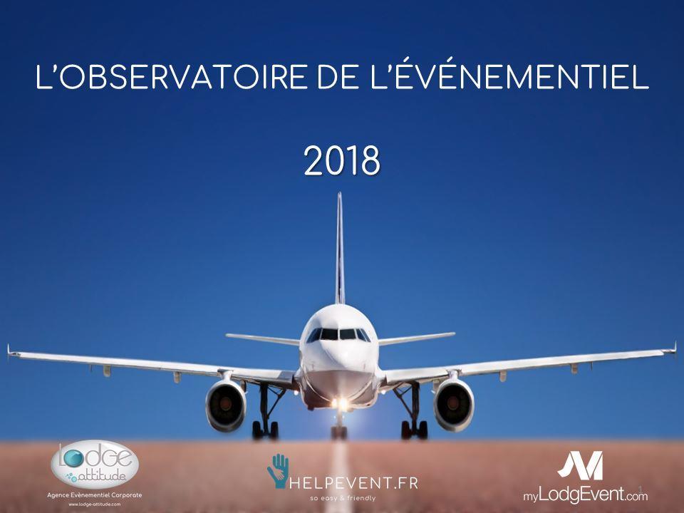 observatoire de l'évènementiel 2018