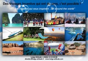 lodge attitude voyage incentive évènement client challenge