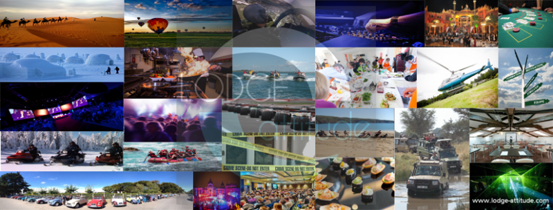 Une dynamique évènementielle et relationnelle Lodge Attitude mozaique événementielle
